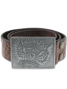 Cintura Guinness in pelle m/l 106 cm borchia logo con ali