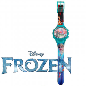 Frozen orologio digitale da polso in plastica colorata da bambina facile leggere