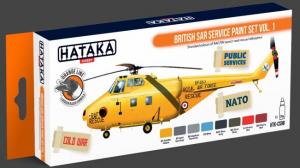 British SAR Service paint set vol. 1