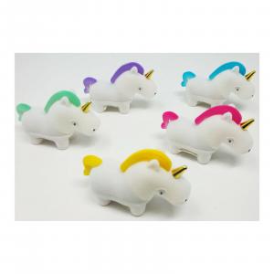 UNICORNO Collana bigiotteria bambina confezione regalo in 5 varianti di colore