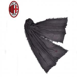 MILAN pashmina ENZO CASTELLANO sciarpa uomo nera 100% viscosa 200x80 cm