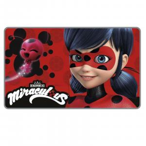 Tappeto Morbido 45 x 75 cm motivo MIRACULOUS Lady Bug scendiletto