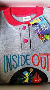 Pigiama bimba  lungo INSIDE OUT Disney varie taglie disponibili