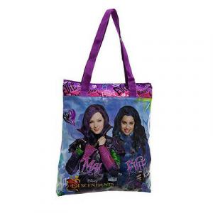 DESCENDANTS borsa shopper viola  40x32 cm da bambina