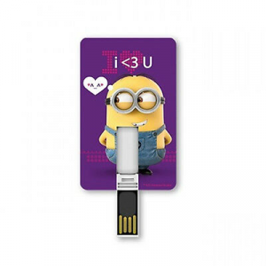 CATTIVISSIMO ME pennetta USB card i love you 8 GB
