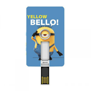 CATTIVISSIMO ME pennetta USB card yelloh bello  8 GB