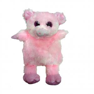 Peluches termico maialino rosa con grani naturali scaldabili al microonde