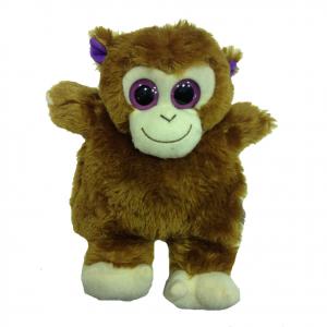 Peluches termico scimmia con grani naturali scaldabili al microonde