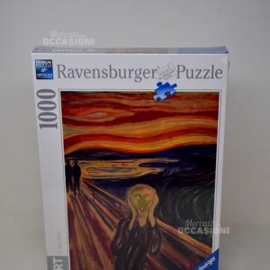 RAVENSBURGER PUZZLE 1000 PEZZI ARTE MUNCH: LURLO PUZZLE GIOCATTOLO 416