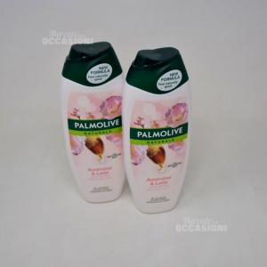 Palmolive Naturals Bagnodoccia Crema Burro di Karité 600 ml 2 Pezzi