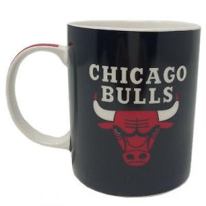 Tazza mug NBA CHICAGO BULLS 350 ml lavabile in lavastoviglie col.NERO