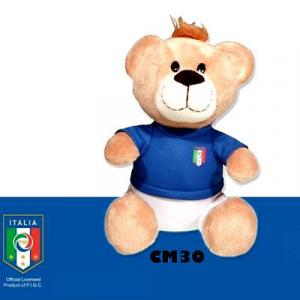 Peluche ITALIA orso ufficiale cm 30