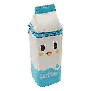 Astuccio TOKIDOKI MILK Latte Carton Pencil Case COLORE BIANCO CELESTE DIM. 22X7