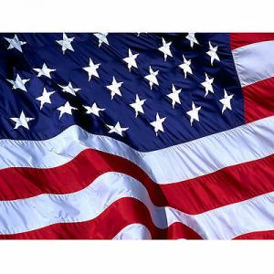 Bandiera USA STATI UNITI D'AMERICA cm 90x140  poliestere con laccetti per asta