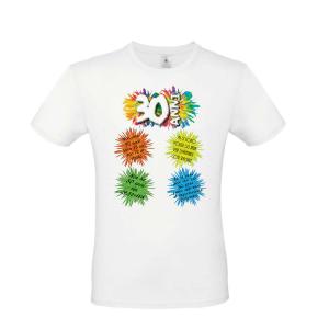 Maglia Maglietta T-Shirt 30 anni, trentesimo complenno, Uomo /Donna