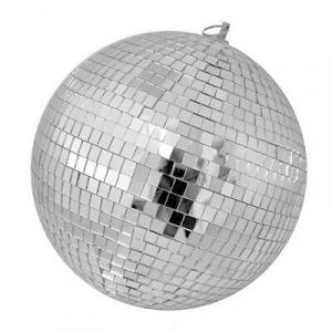 DISCOTECA sfera a specchi 25 cm di diametro