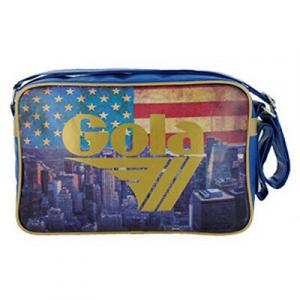 GOLA tracolla tempo libero e scuola MIDI REDFORD USA VINTAGE FLAG