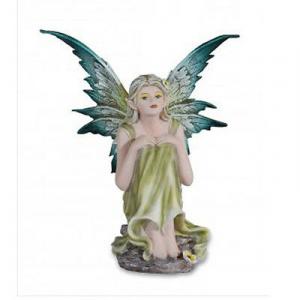 FATINA SEBILLE seduta 16 cm in resina da collezione LES ALPES
