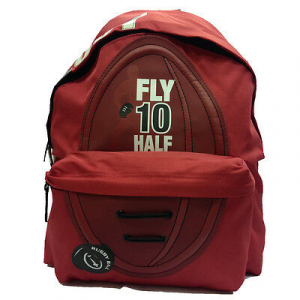 Zaino scuola FLY 10 HALF rosso 2 tasche