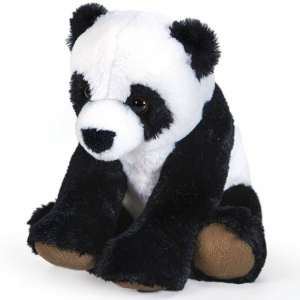 PANDA PELUCHES morbidissimo nero e bianco circa 25 cm