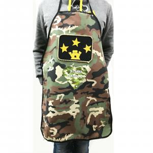 Grembiule cucina Mimetico camouflage graduato con scritta in cucina comando io