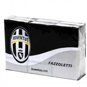 fazzoletti JUVENTUS 6 pacchetti tascabili clean paper con logo