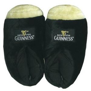 Ciabatte peluche pinta Guinness