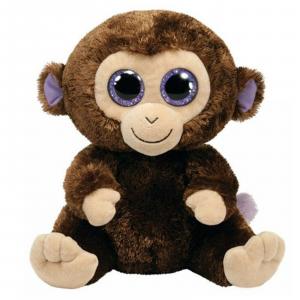 Peluche TY BEANIE BOOS COCONUT scimmietta 15 cm IDEA REGALO