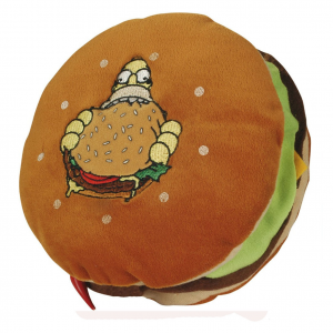 SIMPSON homer peluches hamburger circa 34 cm 100% ufficiale