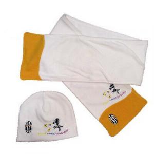 JUVENTUS set sciarpa e cappello in pile da bambino ufficiale