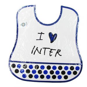INTER bavaglino i love inter in plastica