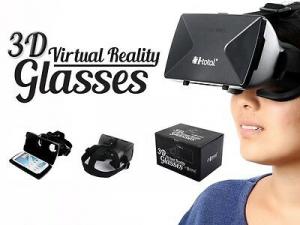 Maschera  3D per realtà virtuale universale per tutti i cellulari e videogiochi