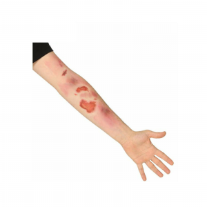 Halloween 7 Cicatrici graffi abrasioni tattoo temporanei effetto speciale