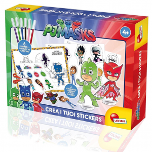 PJMASKS SUPER PIGIAMINI crea i tuoi stickers colorati BY LISCIANI 2017/2018