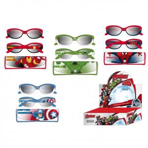 AVENGERS occhiali da sole da bambino in plastica 100% protezione UV vari persona