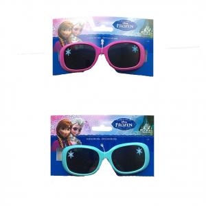 FROZEN ANNA E ELSA occhiali da sole FROZEN da bambina in plastica due colori +3