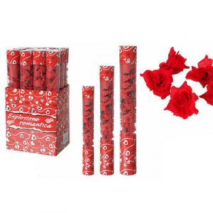 Set 2 spara rose rosse  da 40 cm per feste san valentino e matrimonio