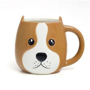 Tazza Woof mug a forma di testa di cagnolino capacità di 400ml
