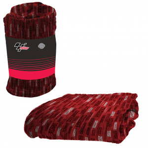 MOTO GP coperta plaid in pile 125x150cm caldo e leggero OFFICIAL PRODUCT
