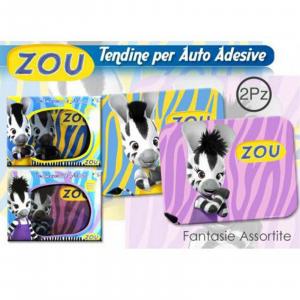 ZOU Tendine parasole elettrostatiche CARTONE ANIMATO ZOU CELESTE 38,5x29,5cm