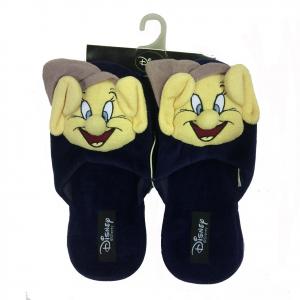 CUCCIOLO pantofole blu in peluches con antiscivolo varie taglie da donna disney