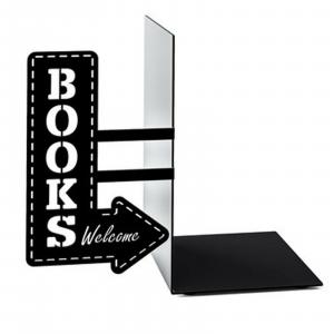 Fermalibri Bookshop nero libreria arredamento