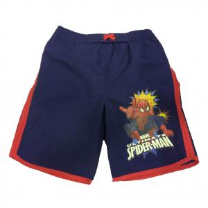 SPIDERMAN UOMO RAGNO costume bermuda pantaloncino blu mare piscina da bambino