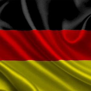Bandiera GERMANIA cm 90x140  poliestere con laccetti per asta
