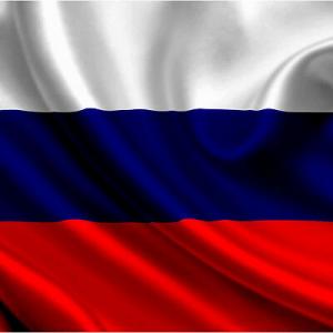 Bandiera RUSSIA  cm 90x140  poliestere con laccetti per asta