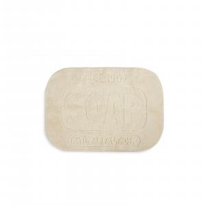 Tappeto sala bagno Soap colore beige forma sapone dimensioni: 50x70x1,2 cm