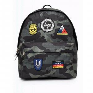 Zaino Hype Backpack Americano Camo Patch Hypek zaino scuola