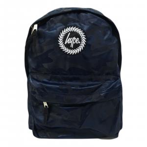 Zaino Hype Unisex Scuola tempo libero Camo Navy Backpack