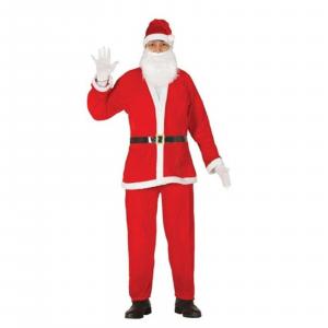 Natale vestito Babbo Natale Santa Claus taglia L corrispondente 52/54