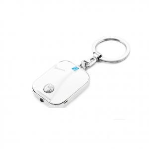VESPA portachiavi in metallo bianco luce a LED con scatola in latta idea regalo